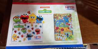 🚚 Brand New Sesame Street Ezlink Flashpay Set with Nice Folder