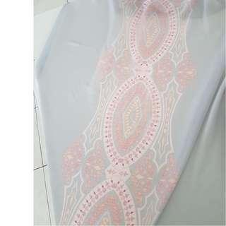 Exclusive Mimpikita Long Shawl - Grey & Pink