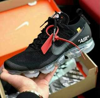 Nike air vapor max off white black