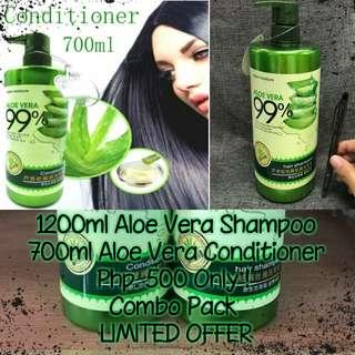 Aloe Vera Shampoo & Conditioner