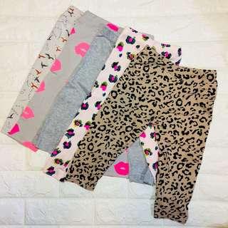 Preloved leggings for baby girls