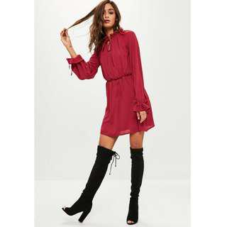 Missguided Dress Red