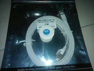 LAN CABLE CAT 7E (2M)