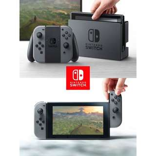 🚚 SALE BNIB LOCAL SET IN STOCK Nintendo Switch Console Grey