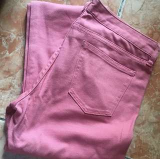 AUTH Uniqlo Pink Pants