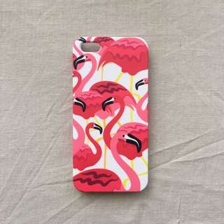 iPhone 5 Flaminggo Hardcase by Rabbitjunk