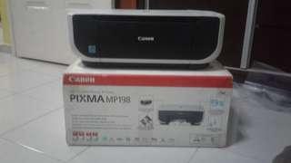 Canon Printer pixma MP198