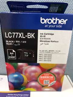 全新 Brother print ink (LC77XL-BK)