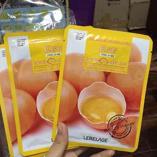 lebelage egg mask