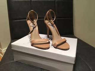 Steve Madden Stecy- Nude Sandals