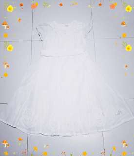 (A3) Girl's White Dress