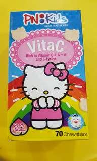 BN Sealed Bottle PN Kids Vita C (Peach flavor)