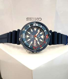 * FREE DELIVERY * Brand New 100% Authentic Seiko Prospex PADI Blue Red Mens Automatic Diver Watch SRPA83 SRPA83K