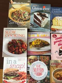 Cookbooks 129php each