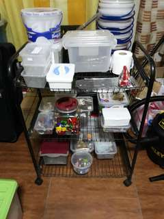 Kitchen 3 Layer Stand Table Basket
