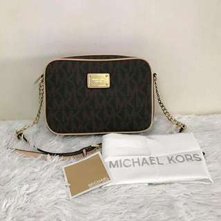 Authentic Quad Michael Kors Sling Bag