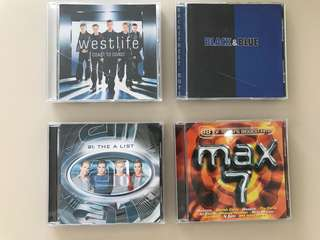 Westlife Backstreet Boys A1 Max 7