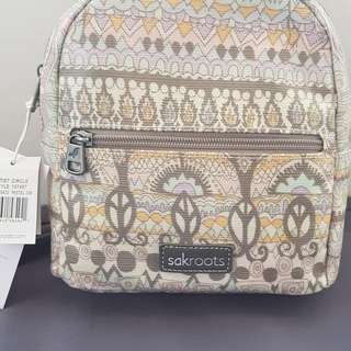 Sakroots mini crossbody backpack