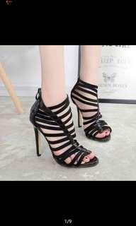 Something borrowed ZALORA strappy heels