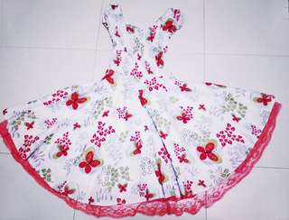 (A3) Girl's Floral Dress