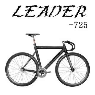 Leader 725 - Fixed gear / track bike , impressive design and light-weight, higher specification. limited stock