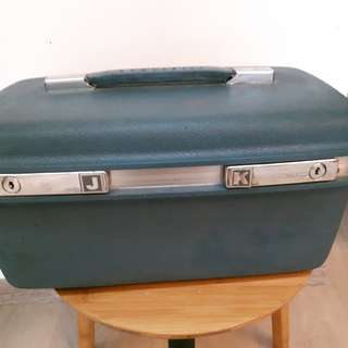 Vintage Samsonite Make-up Traveling Hard Case