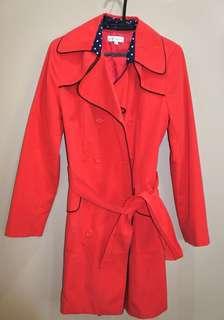 Apple & Eve light trench coat
