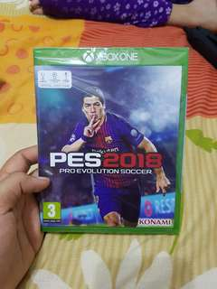 PES 2018 BRAND NEW !!!