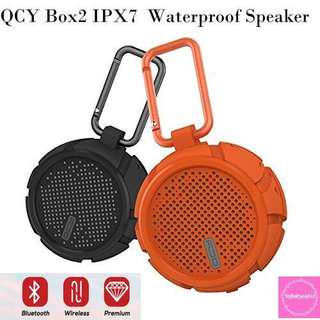 QCY Box2 IPX7 Waterproof/Shockproof Speaker#Caroupay
