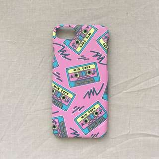 Mix Tape iPhone 6 Hardcase by Rabbitjunk