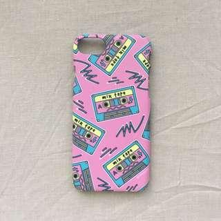 Mix Tape iPhone 6 Hardcase by Rabbitjunk