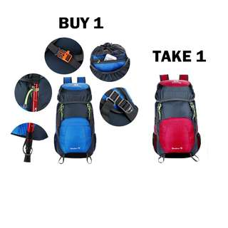 Buy 1 Take 1 Waterproof Hiking Travel Backpack Bag