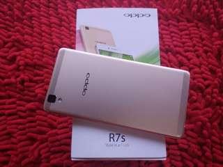 Oppo r7 s ram 4 gb like new