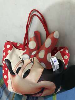 Disney Minnie canvas bag