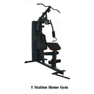 1 STATION HOME GYM and other gym equipment