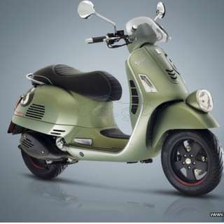 Vespa 300 $10.8k Machine price .D/P $500 or $0 With out insurance (Terms and conditions apply. Pls call 67468582 De Xing Motor Pte Ltd Blk 3006 Ubi Road 1 #01-356 S 408700.