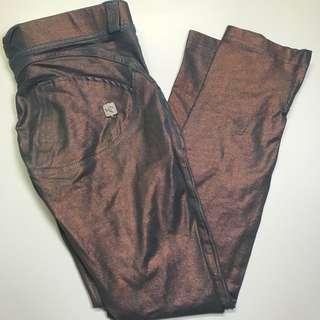 Metallic Freddy Wr Up Pants