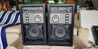 HI Fi & AV Karaoke Speaker Sound System with FM Radio
