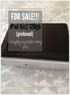 iPad Air2 128gb Wi-Fi (preloved)