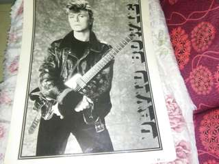 David Bowie Original poster