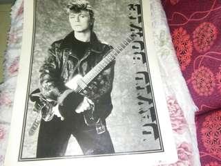 David Bowie Original poster