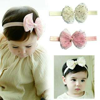 Kids Girl Baby Flower Headband Headdress Bow Hair Band Hair Accessories