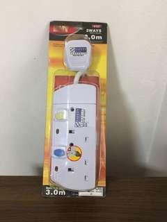 🚚 Multi Plug Adaptor (3M)