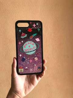 Iphone 7plus Glittery Case