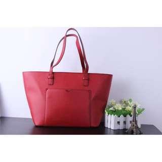 Original MANGO RED SHOULDER BAG