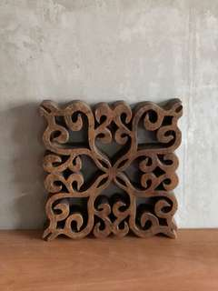 Wooden wall decoartion