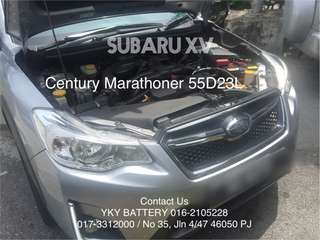 Bateri Subaru XV , Delivery & Installation Available
