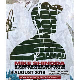 2x Tickets to Mike Shinoda Live in Bangkok 2018