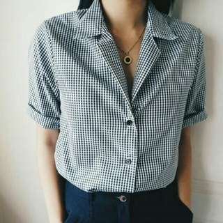 Gingham top [REPRICED!!]