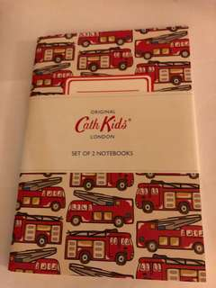 Cath Kidston A5 notebook (set of 2)